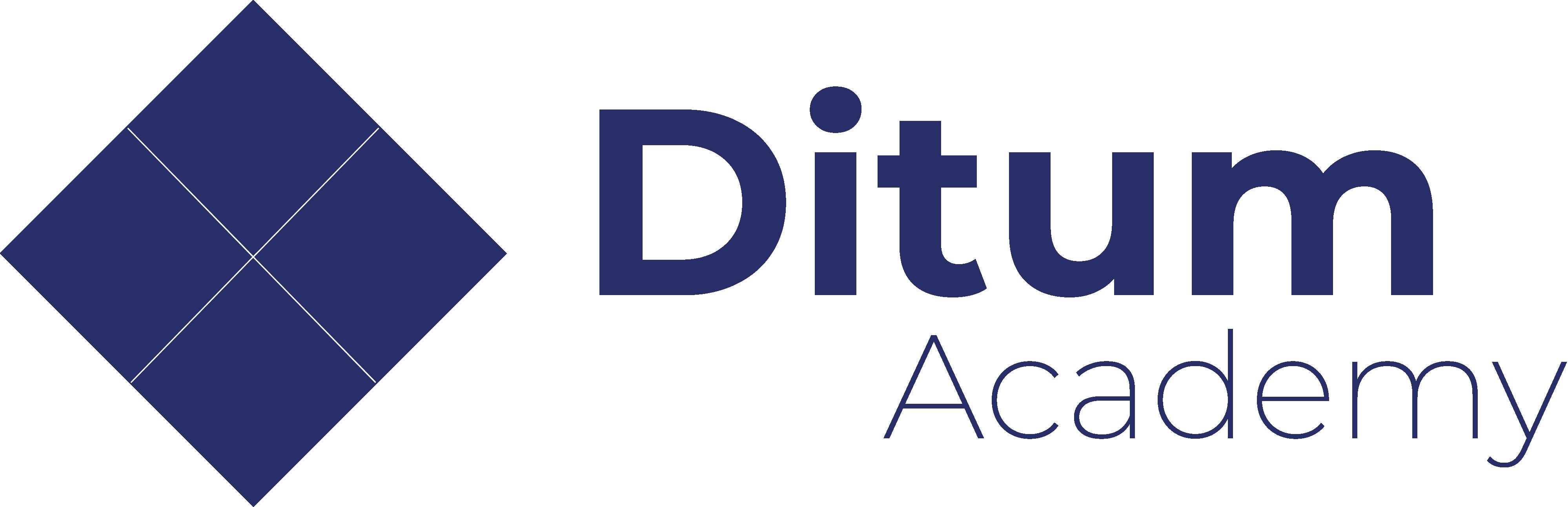 ditum academy logo navy